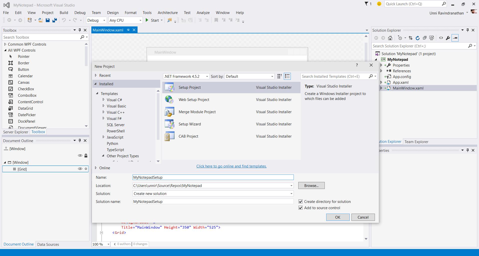 Microsoft Visual Studio 2015 Installer Projects - Visual Studio Marketplace